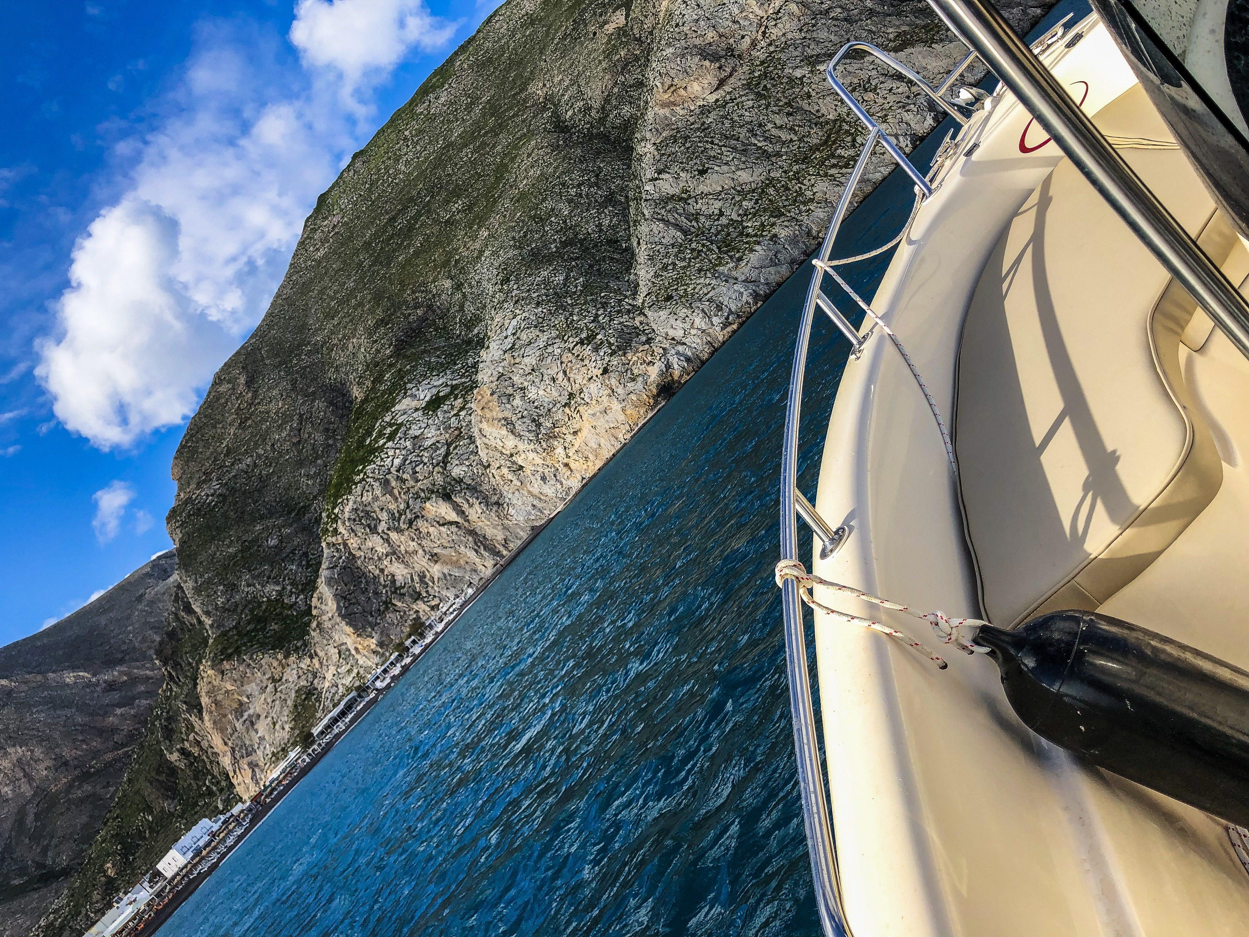 boat rental santorini